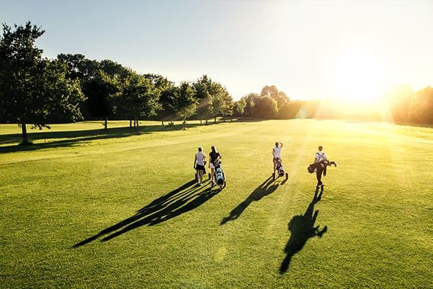 Spela golf i Katalonien